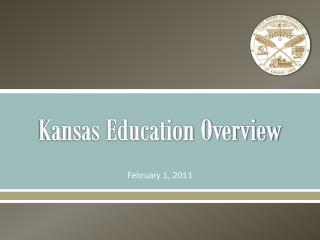 Kansas Education Overview