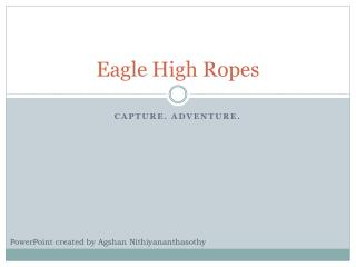 Eagle High Ropes