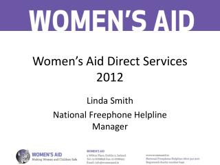 Women's Aid Direct Services 2012