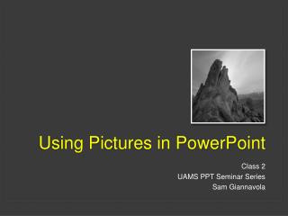 Using Pictures in PowerPoint