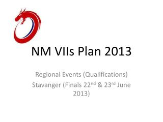 NM VIIs Plan 2013