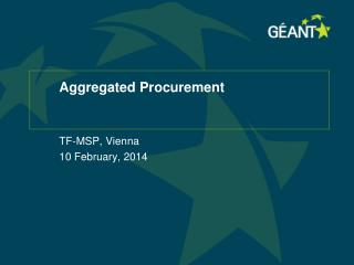 Aggregated Procurement