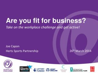 Are you fit for business?