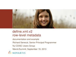 define.xml.v2 row-level metadata