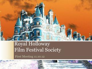 Royal Holloway  Film Festival Society
