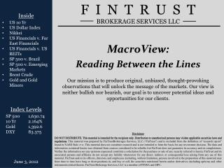 MacroView : Reading Between the Lines