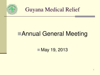 Guyana Medical Relief