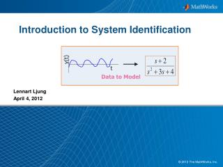 Introduction to System Identification