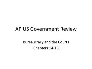 AP US Government Review