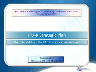ITU-R Strategic Plan