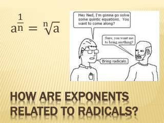 How are Exponents related to Radicals?