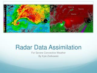 Radar Data Assimilation