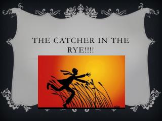 The Catcher in  the rye !!!!