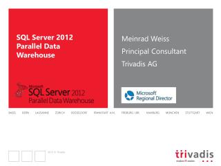 SQL Server 2012 Parallel Data Warehouse