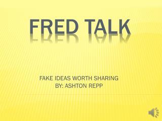 fRed talk