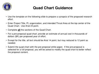 Quad Chart Guidance