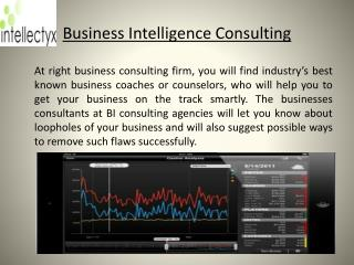 Integrated Business Intelligence Service