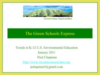 The Green Schools Express