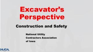 Excavator's Perspective