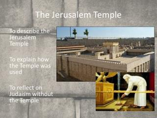 The Jerusalem Temple