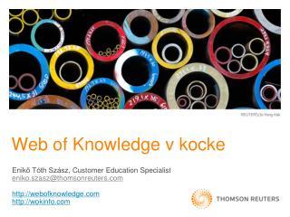Web of  Knowledge v  kocke
