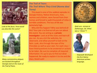 The Trail of Tears: The Trail Where They Cried  ( Nunna daul Tsuny)