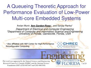 A  Queueing  Theoretic Approach for  Performance Evaluation of Low-Power