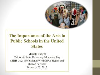 The Importance of the Arts in Public Schools in the United States