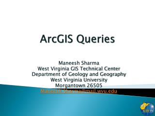 ArcGIS Queries