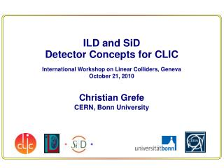 ILD and SiD Detector Concepts for CLIC