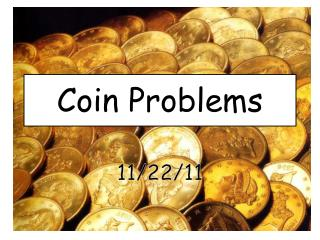 Coin Problems
