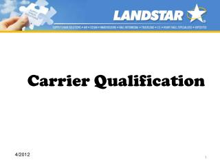 Carrier Qualification