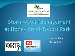 Stormwater Management at Honey Creek Resort Park