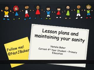 Lesson plans and maintaining your sanity