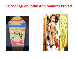Sarcophagi or  Coffin  And Mummy Project