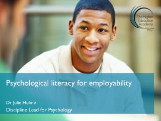 Psychological literacy for employability