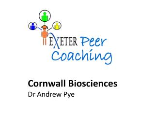 Cornwall Biosciences  Dr Andrew Pye