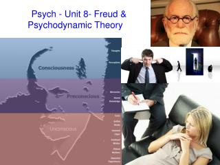 Psych - Unit 8 - Freud & Psychodynamic Theory