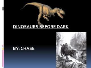 Dinosaurs Before Dark by: Chase