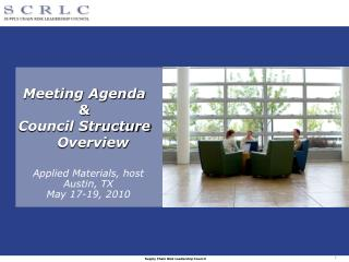 Meeting Agenda & Council Structure Overview