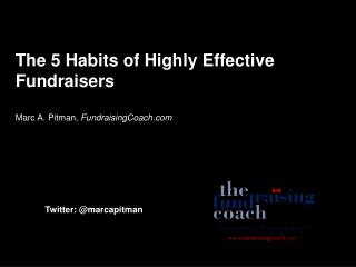 The 5 Habits of Highly Effective Fundraisers