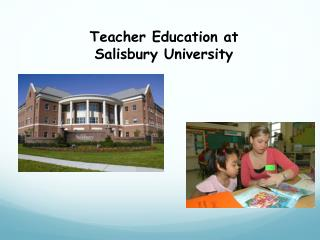 Teacher Education at Salisbury University