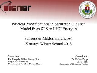 Nuclear Modifications in Saturated  Glauber  Model from SPS to LHC Energies