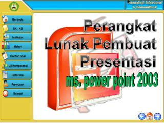 ms. power point 2003