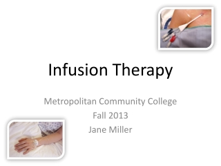 IV Therapy Techniques to Peripheral IV