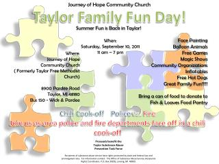 Taylor Family Fun Day!