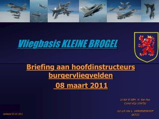 Vliegbasis KLEINE BROGEL