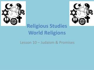 Religious Studies  World Religions