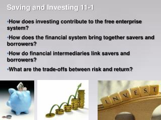 Saving and  Investing 11-1