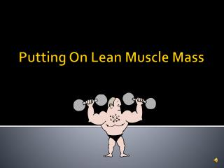 Putting On Lean Muscle Mass
